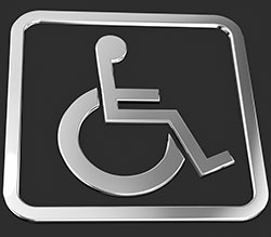 picture of universal disability symbol